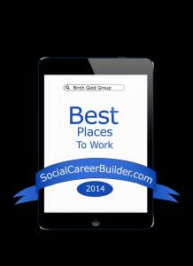 Birch Gold Group Best Places to Work Widget